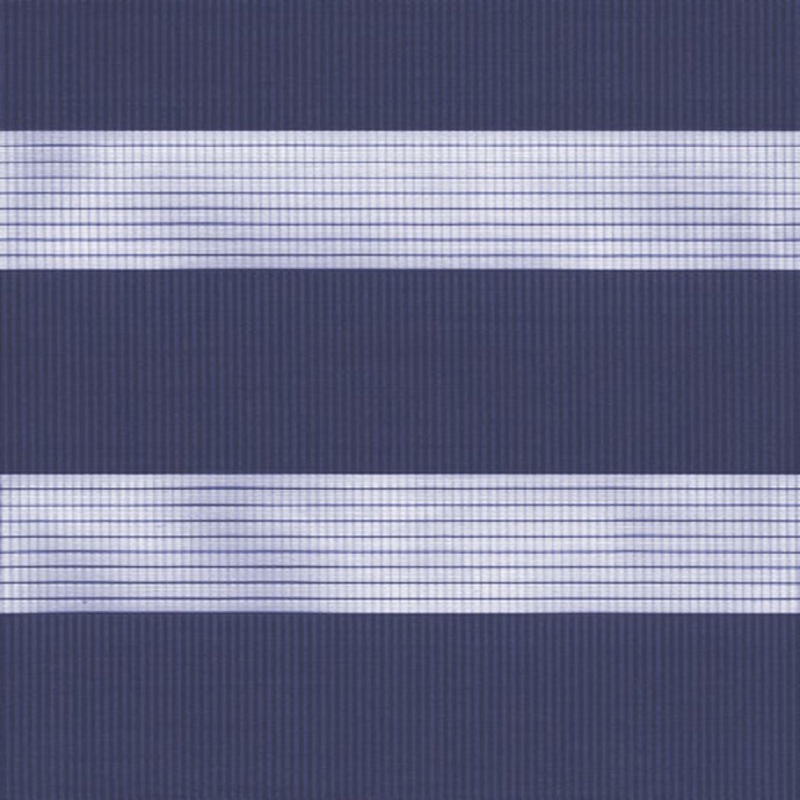 Capri Vision Navy - Duo Rullgardin swatch