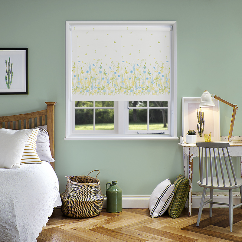 Country Garden Spring Glade Roller Blind. Direct Blinds