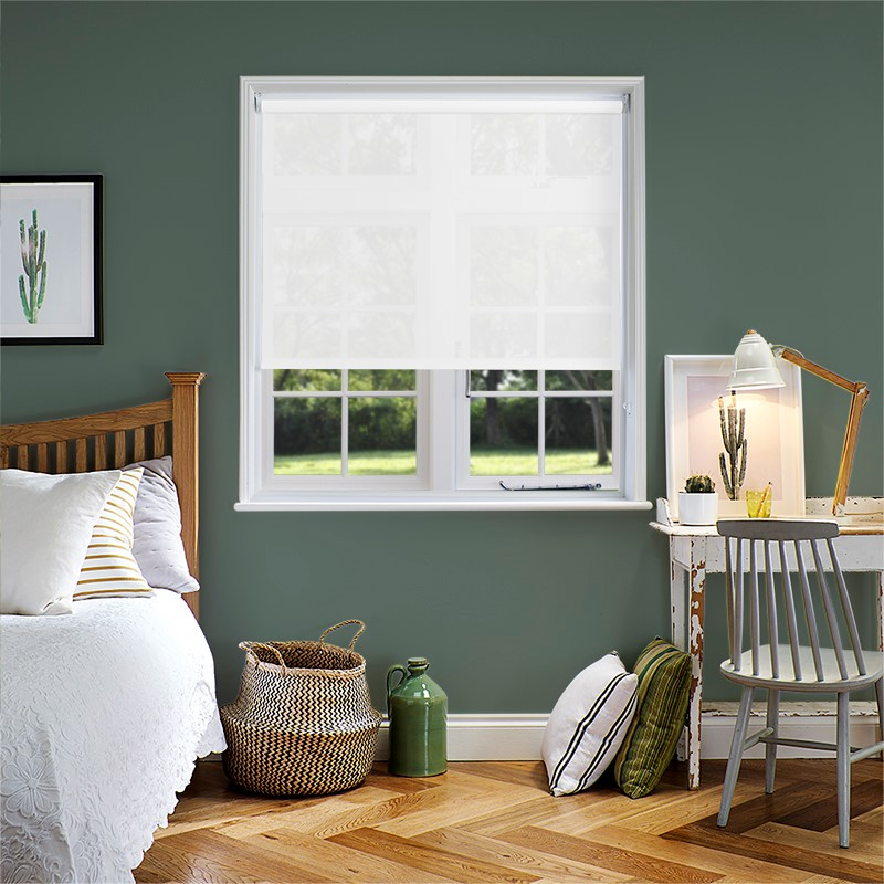 Shop All Living Room Roller Blinds. Previous. Genesis White