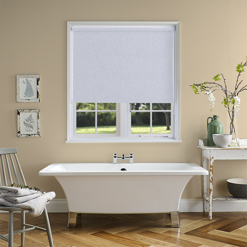 roman blinds shade shades linen white roller look cordless fabric