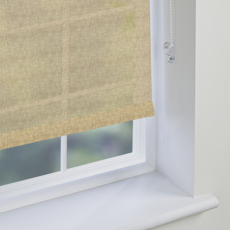 Open Linen Sheer Hessian