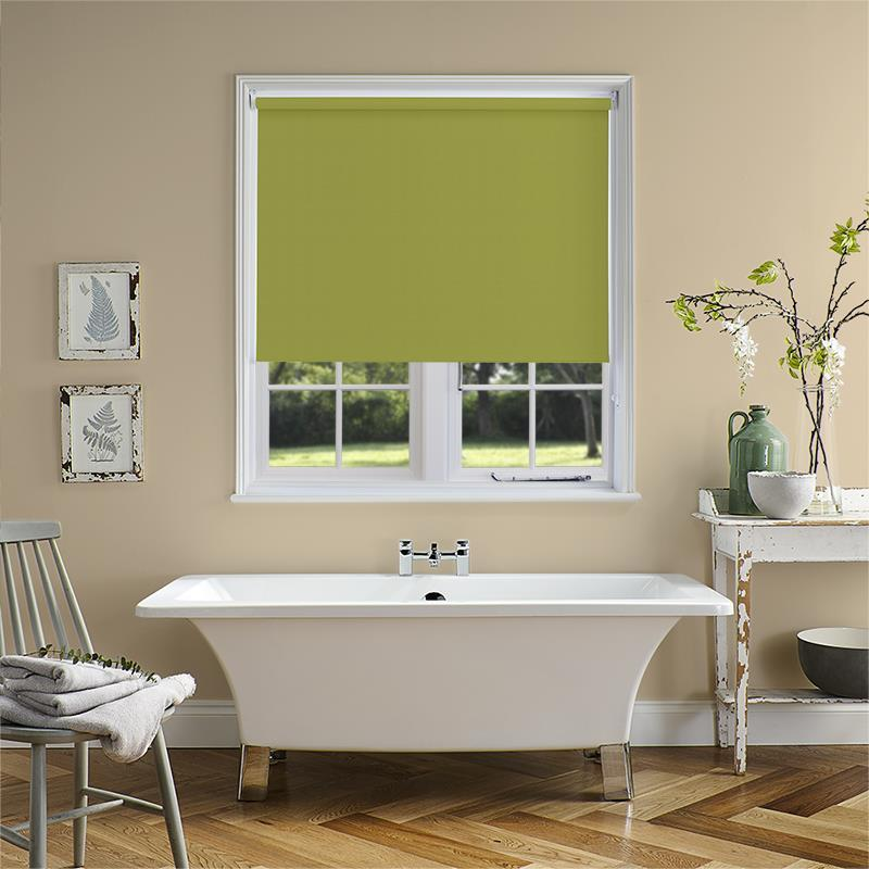 Bermuda Blackout Lime Roller Blind Direct Blinds