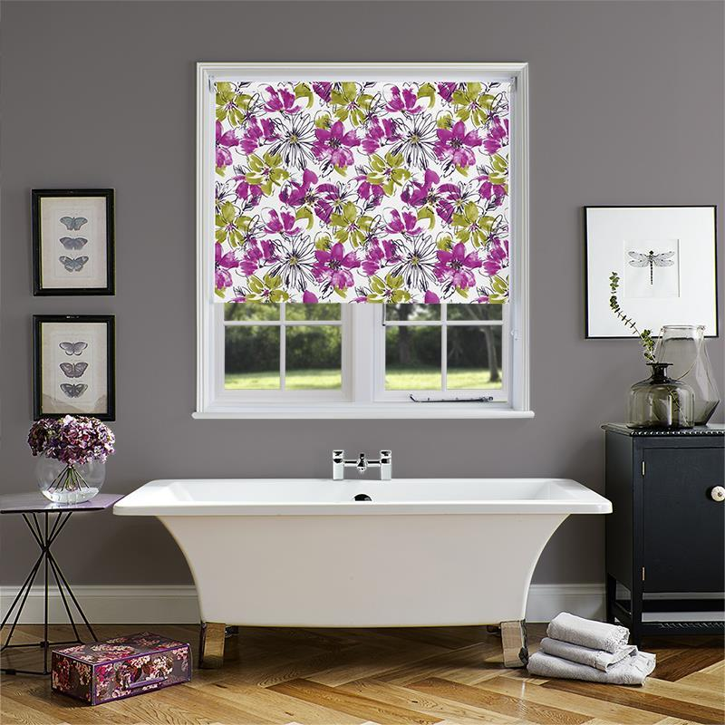 Bloom Pvc Blackout Juno Roller Blind Direct Blinds
