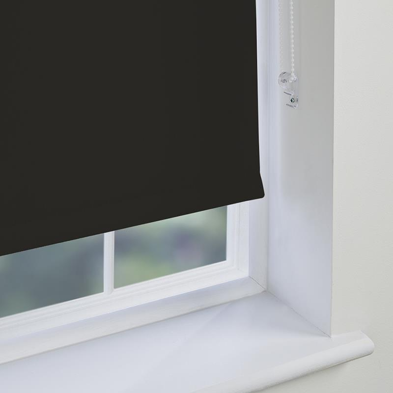 Genesis Blackout Black Roller Blind Direct Blinds