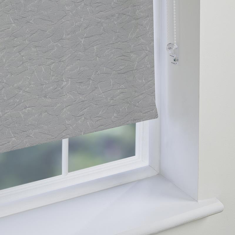 Nordic Solar Silver Roller Blind Direct Blinds