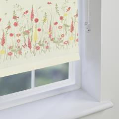 Electric Roller Blinds Country Garden Summer Daze