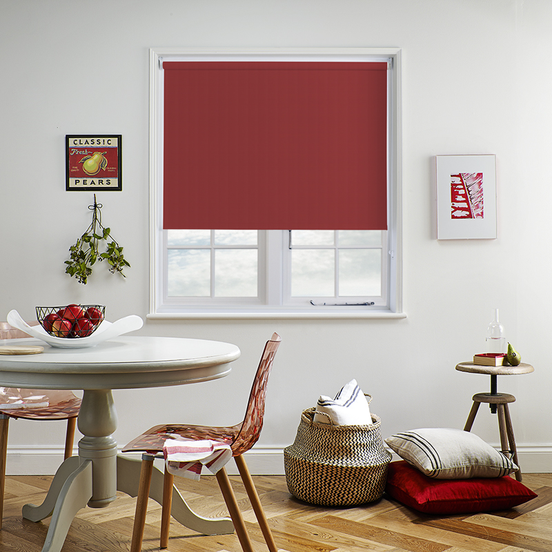 how to close roller blinds