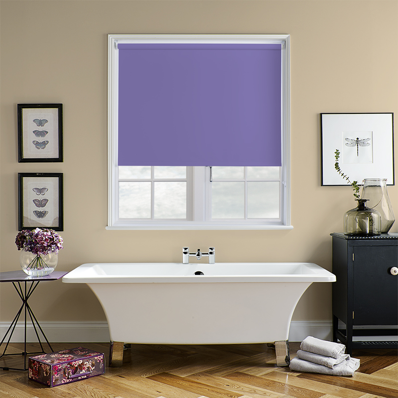 Purple Roller Shades : Purple blinds made to measure from direct
