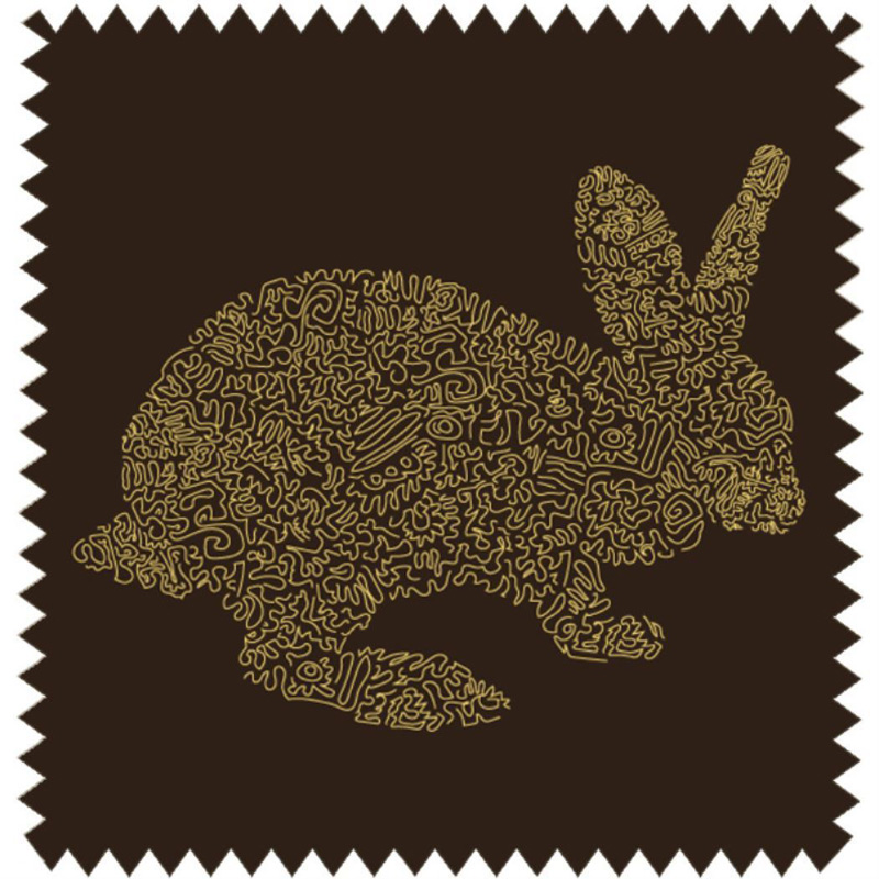 Bunny Black Blackout swatch