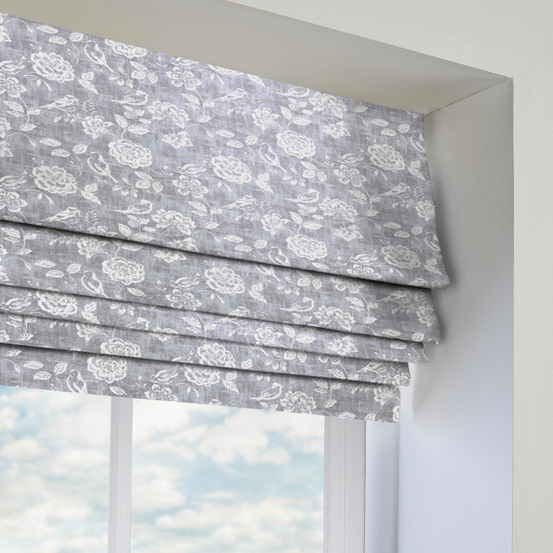 grey romans ready made to measure grey romans direct blinds. Black Bedroom Furniture Sets. Home Design Ideas
