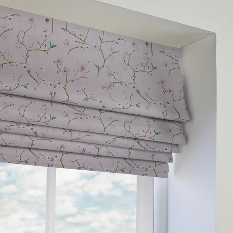Roman Blinds - Open
