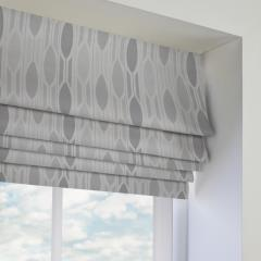 Roman Blinds Aarlborg Charcoal