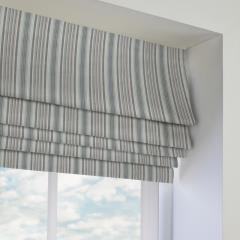 Roman Blinds Barbican Charcoal