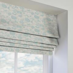 Roman Blinds Bird Garden Duckegg