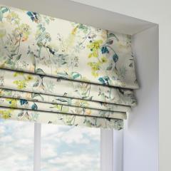 Roman Blinds Bougainvillea Waterfall