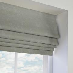 Roman Blinds Opal Sterling