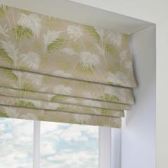 Roman Blinds Paradise Willow Green