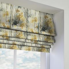 Roman Blinds Silver Birch Shadow