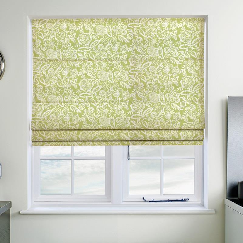Polly Sage Roman Blind Direct Blinds