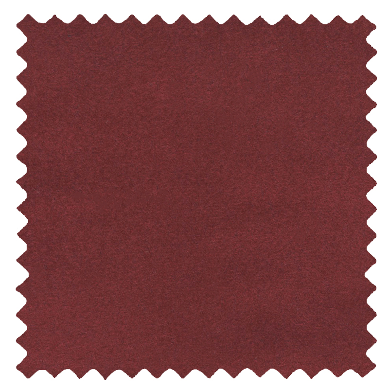 Faux Suede Maroon