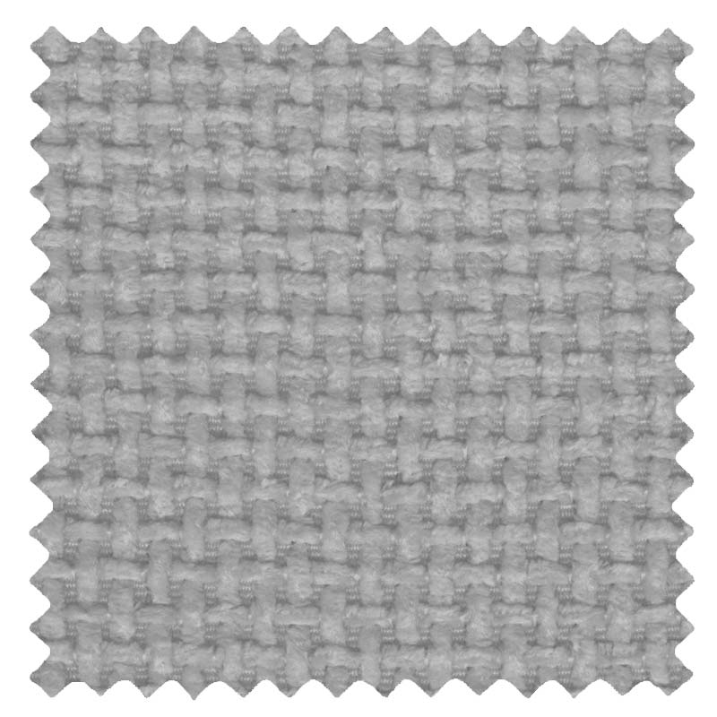Basket Weave Silver Grey swatch