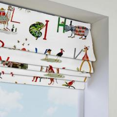 Roman Blinds Animal Alphabet Paintbox