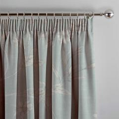 Curtains Etched Vine Eau De Nil
