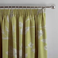 Curtains Etched Vine Fern