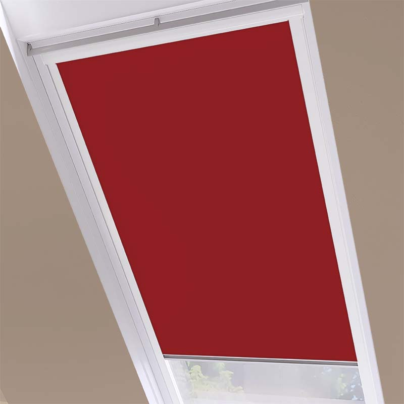 Luna Blackout Red - White Frame