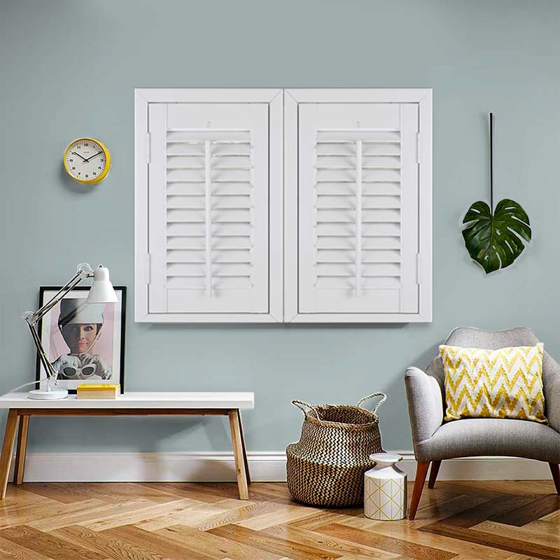 White, Bedroom Shutters. Made to Measure from Direct Blinds