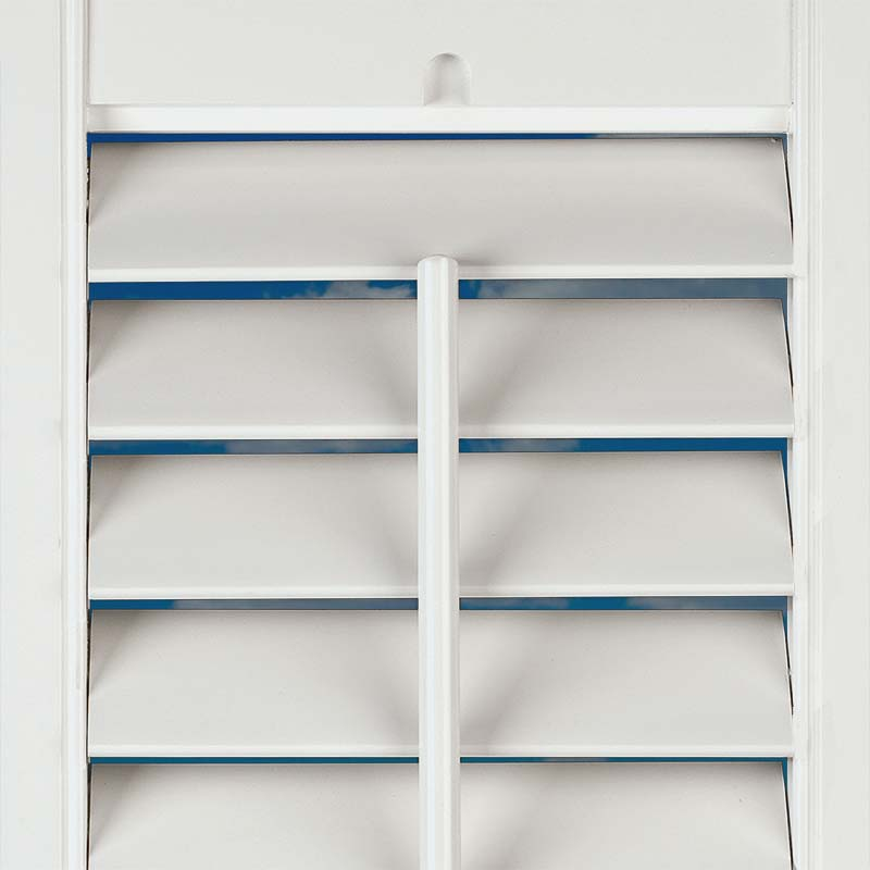 Full Height Boston Pure White Craft Wood Shutter Direct Blinds