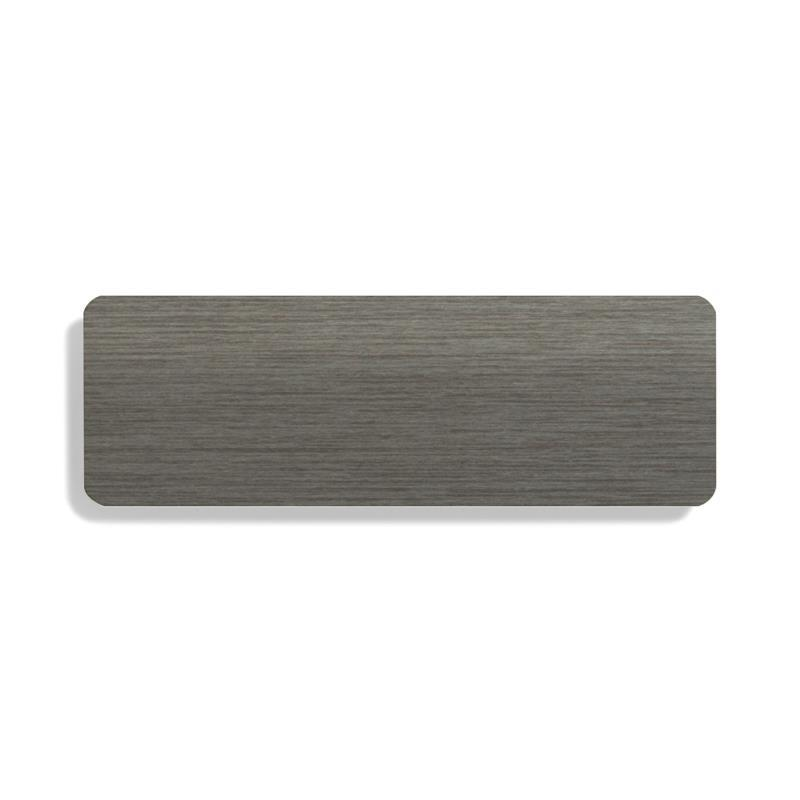 Turin 25mm Metallic Pewter Grey
