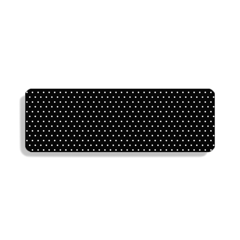 Perforated 25 Matt Black P0049 swatch