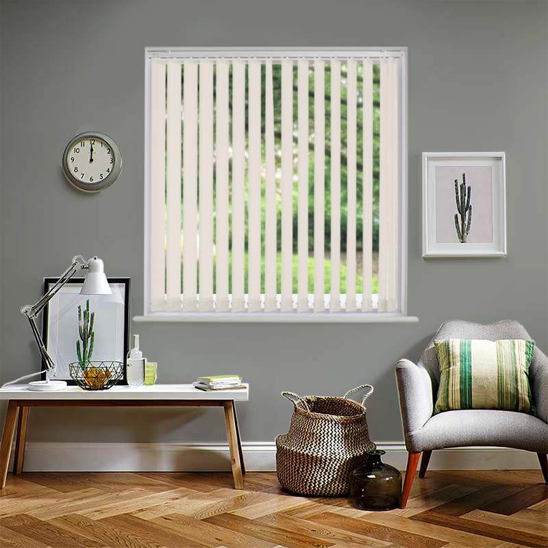 Mineral Pearl 89mm Vertical Blind Direct Blinds