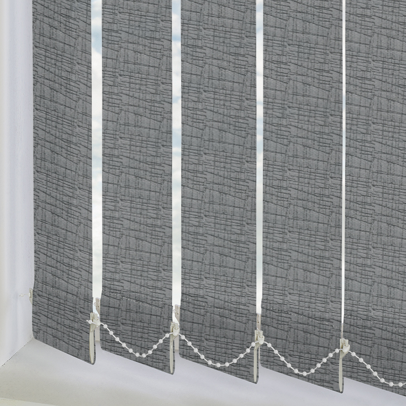 Astratto Slate 89mm Vertical Blind Slats