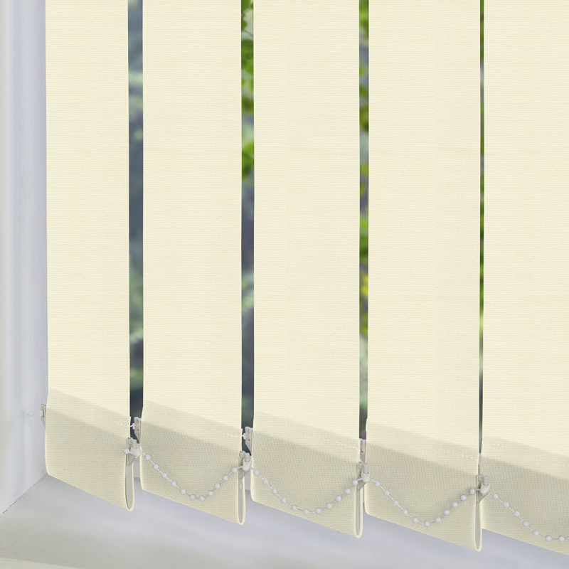 Atlantex Solar Cream 89mm Vertical Blind Slats