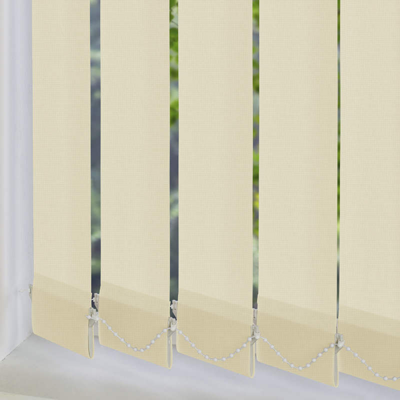 Atlantex Solar Vanilla 89mm Vertical Blind Slats