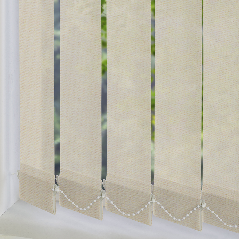 Dapple Solar Maize 89mm Vertical Blind Slats