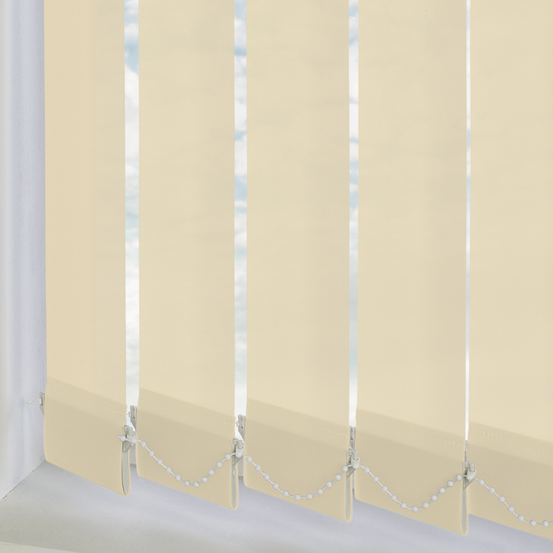 Genesis Beige 89mm Vertical Blind Slats
