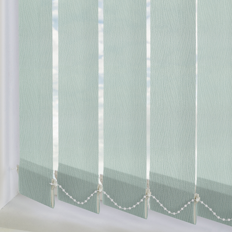 Lana Mint 89mm Vertical Blind Slats