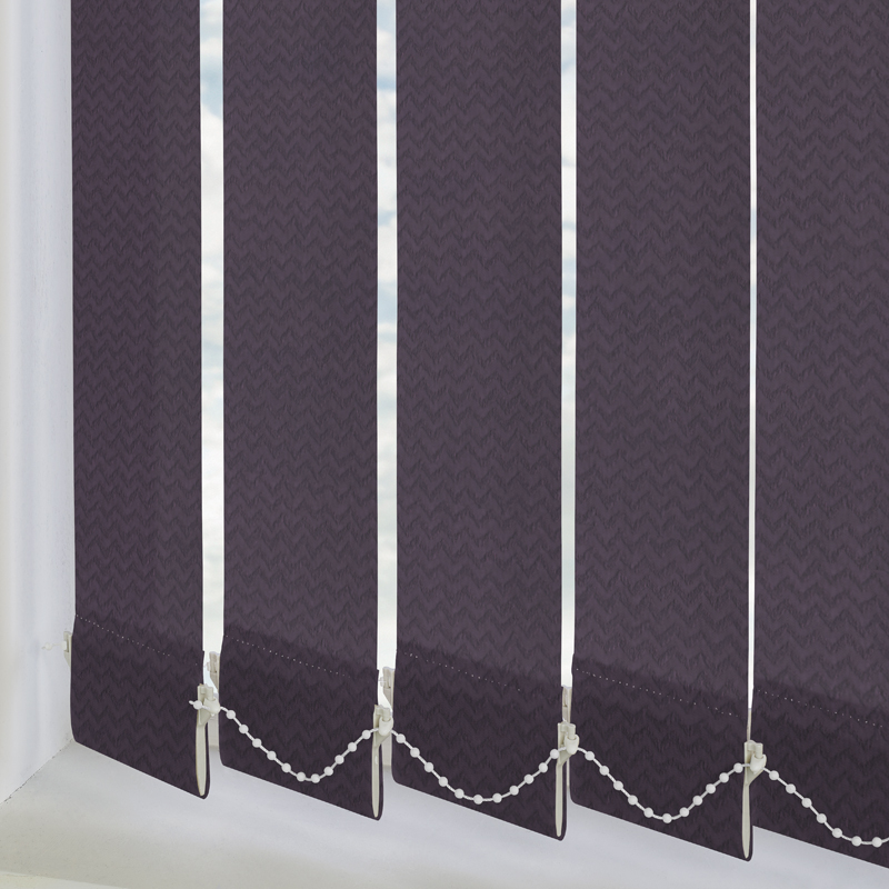 Otto Mulberry 89mm Vertical Blind Slats