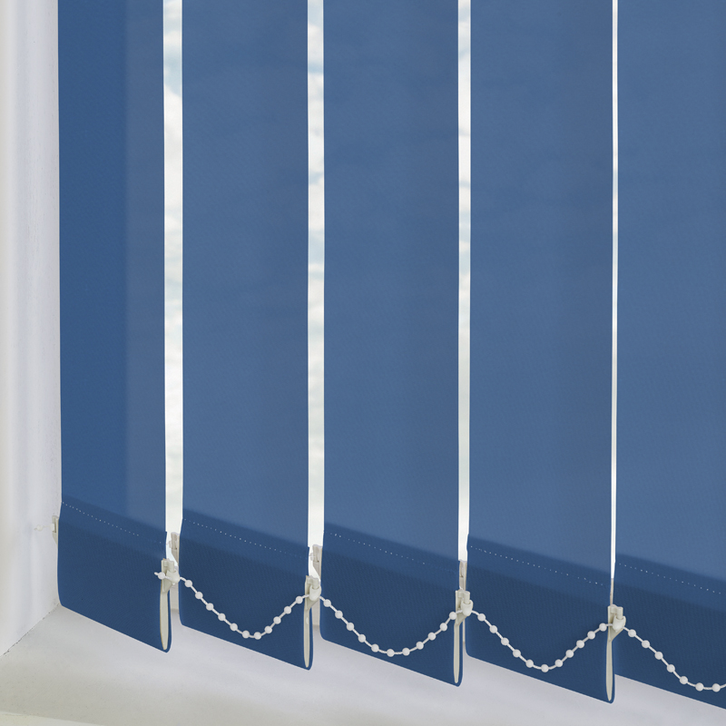 Palette Atlantic Blue 89mm Vertical Blind Slats