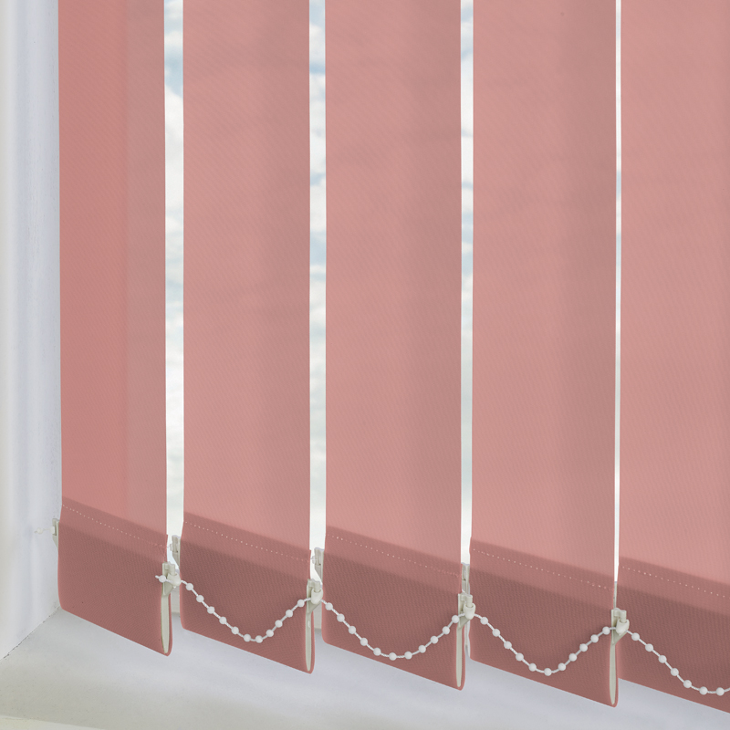 Palette Coral 89mm Vertical Blind Slats