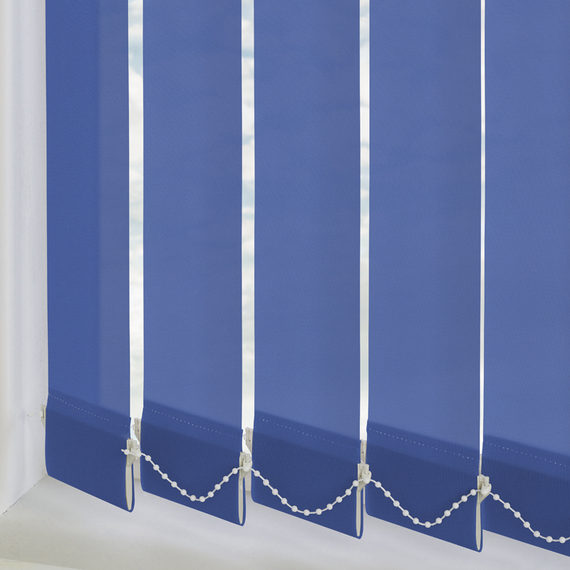 Palette Glacier Blue 89mm Vertical Blind Slats