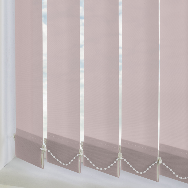 Palette Rose 89mm Vertical Blind Slats