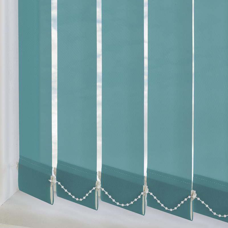 Palette Teal 89mm Vertical Blind Direct Blinds