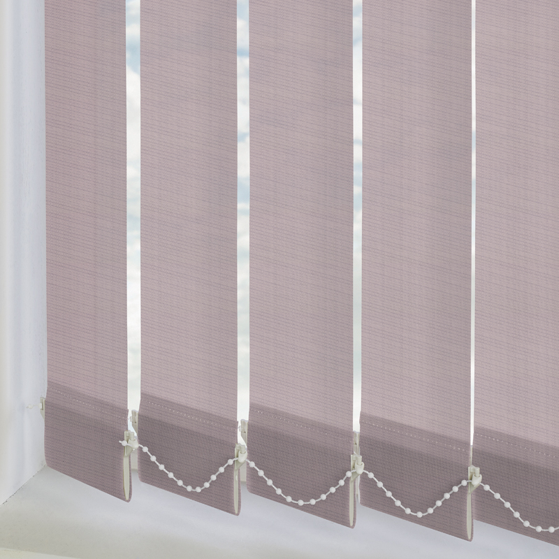 Sophia Orchid 89mm Vertical Blind Slats
