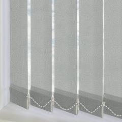 Replacement Vertical Blind Slats Alessi Pebble Grey
