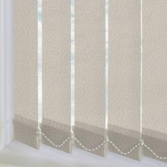 Replacement Vertical Blind Slats Alessi Stone
