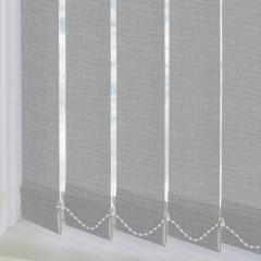 Replacement Vertical Blind Slats Astratto Mid Grey